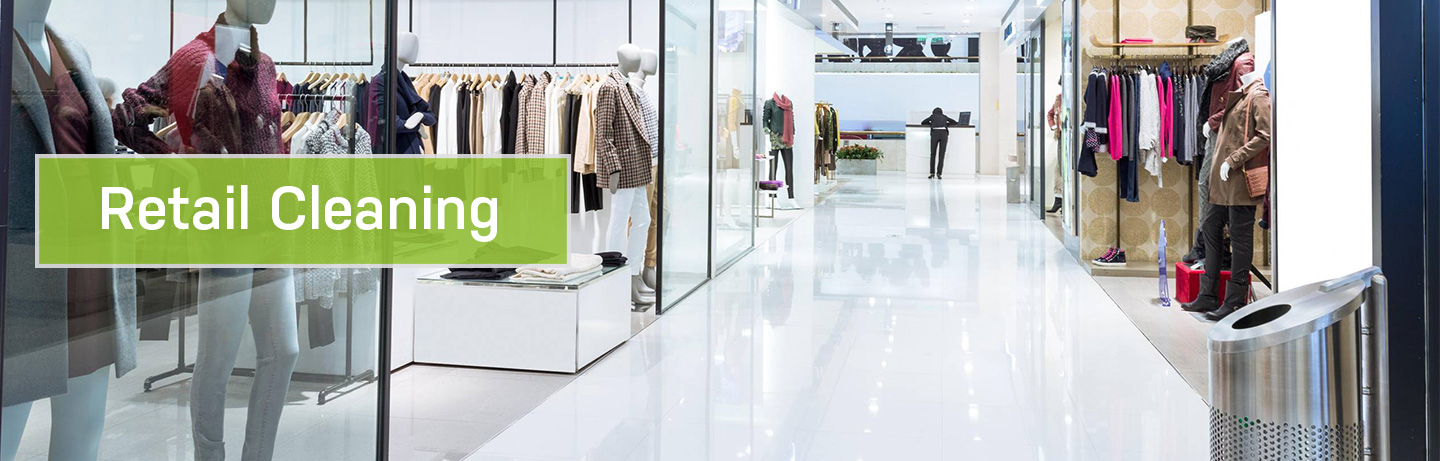Retail Cleaning services - commercial cleaning. Dynamic Serv.